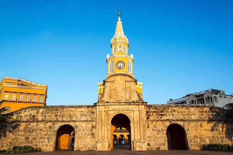Puerta del Reloj klokkentoren, Cartagena