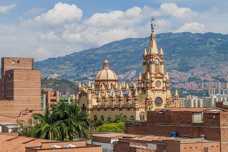 Jesus Nazareno Kerk in Medellín