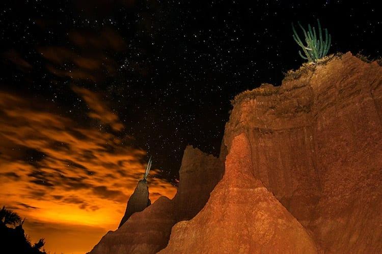 Tatacoa woestijn sterrenhemel