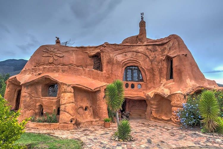 Terracotta huis, Villa de Leyva
