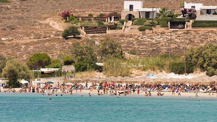 Marcello Beach, Paros