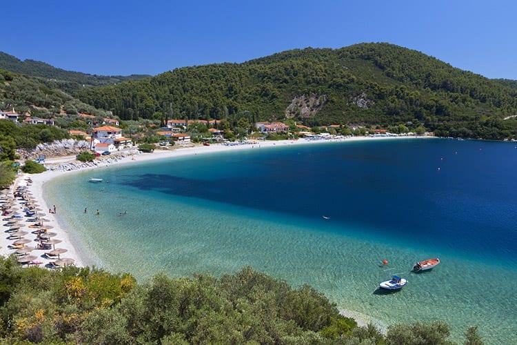 Panormos Beach, Skopelos