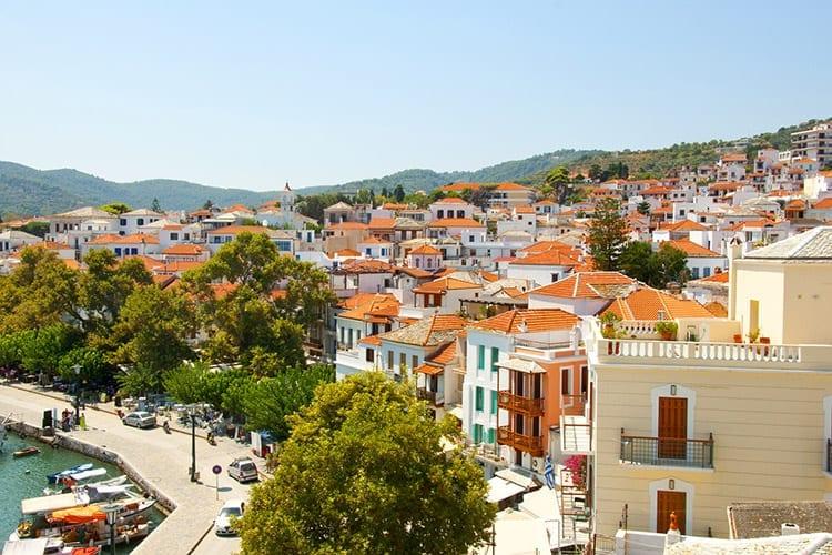 Skopelos-stad