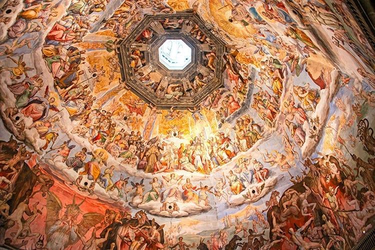 De koepel van de Duomo