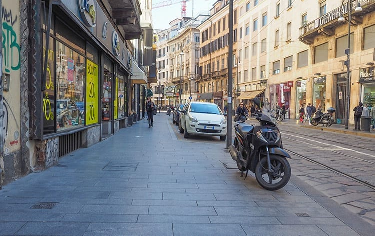 Via Torino, Milaan