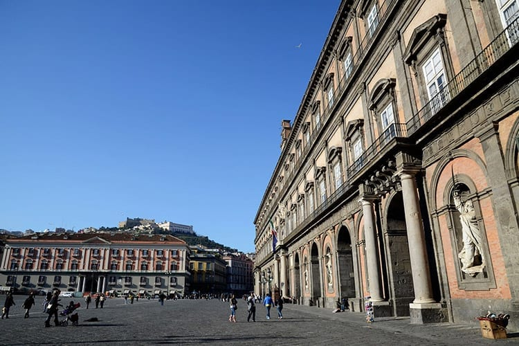 Palazzo Reale, Napels
