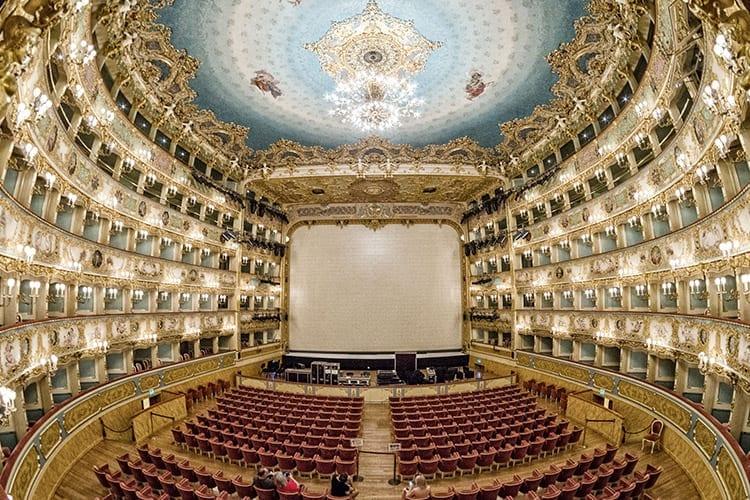 La Fenice theater, Venetië