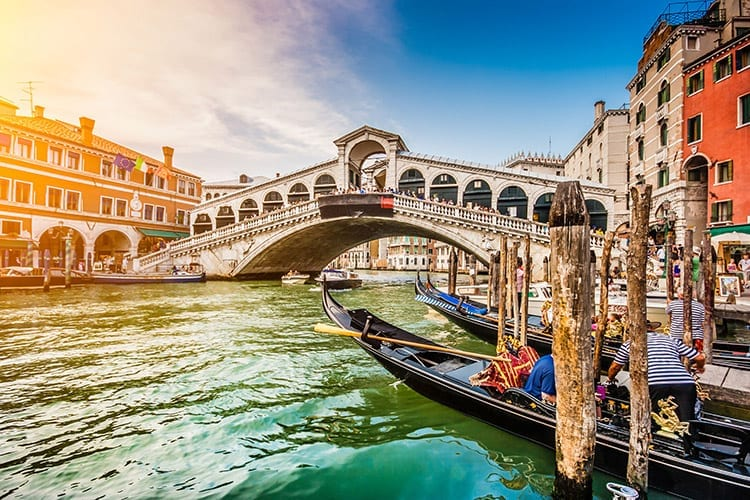 Rialtobrug, Venetië
