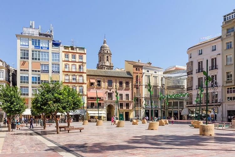 Plaza de la Constitucion, Málaga