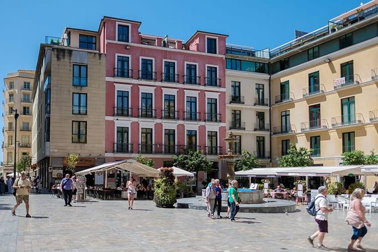 Plaza del Obispo, Málaga