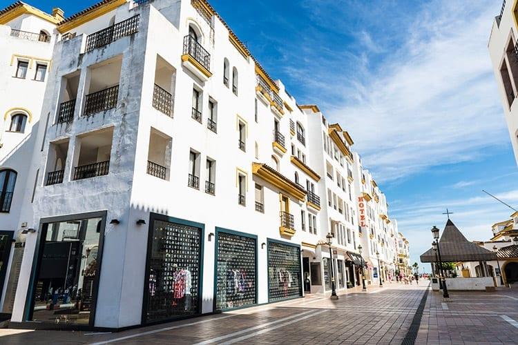 Winkelen in Marbella