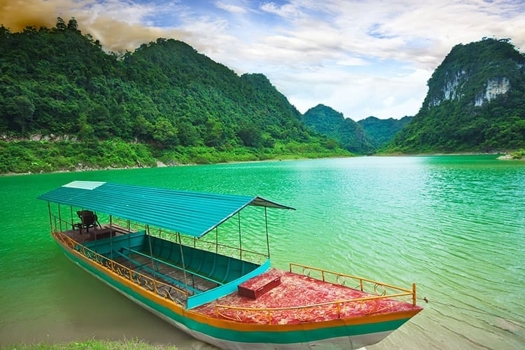 Thang Hen meer, Vietnam