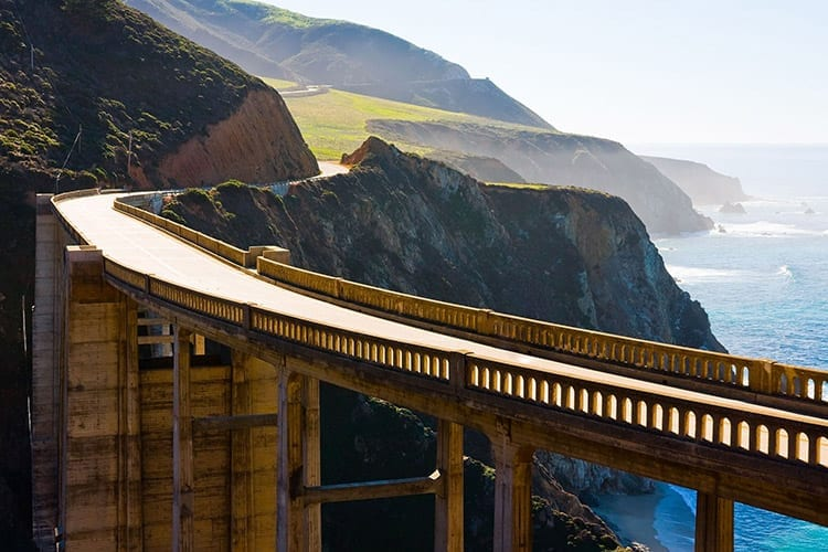 Bixby Creek Bridge, Highway 1