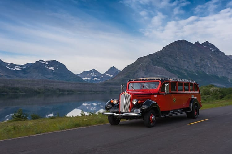 Glacier National Park bus