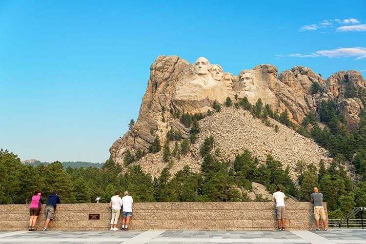 Grand View Terrace bij Mount Rushmore
