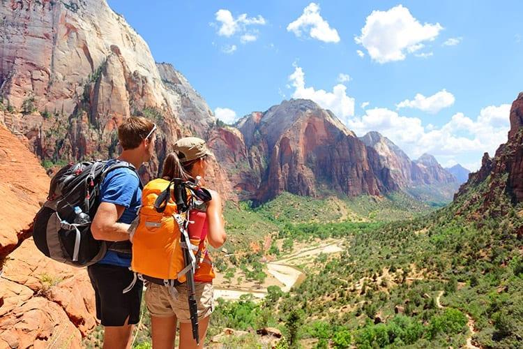 Wandelen in Zion National Park