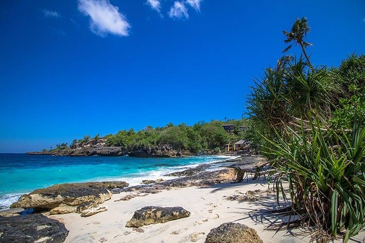 Secret Beach op Nusa Ceningan