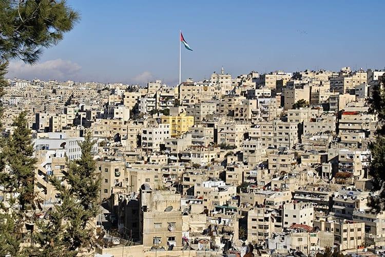 De wijk Jabal Amman