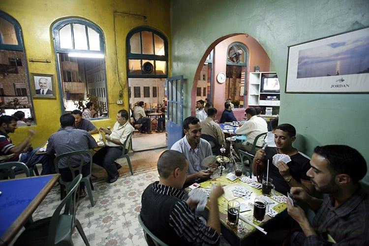 Koffiebar in Amman