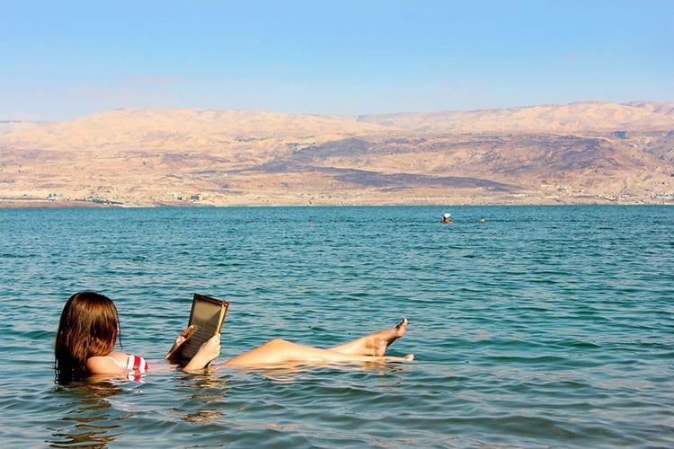Dode Zee, Jordanië