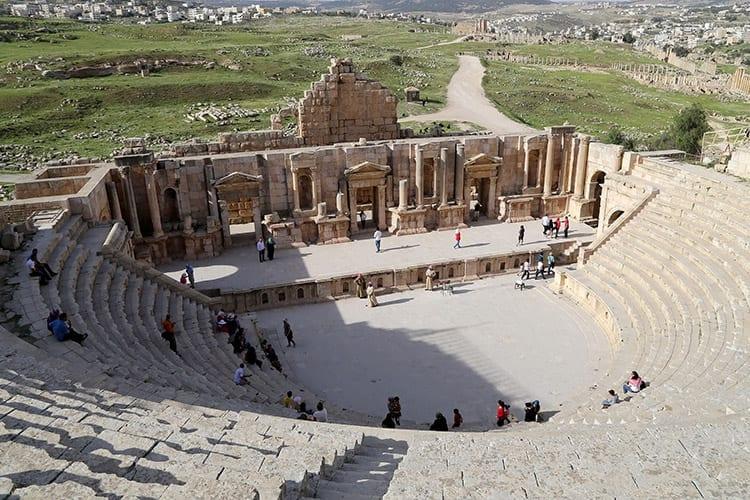 Amfitheater van Jerash