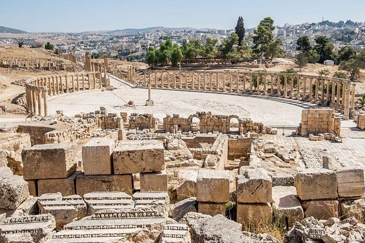 Het Forum, Jerash