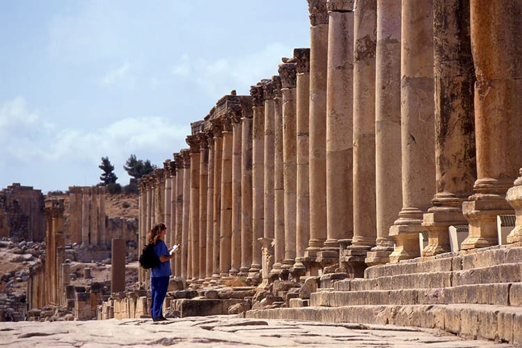 Tempel van Artemis, Jerash