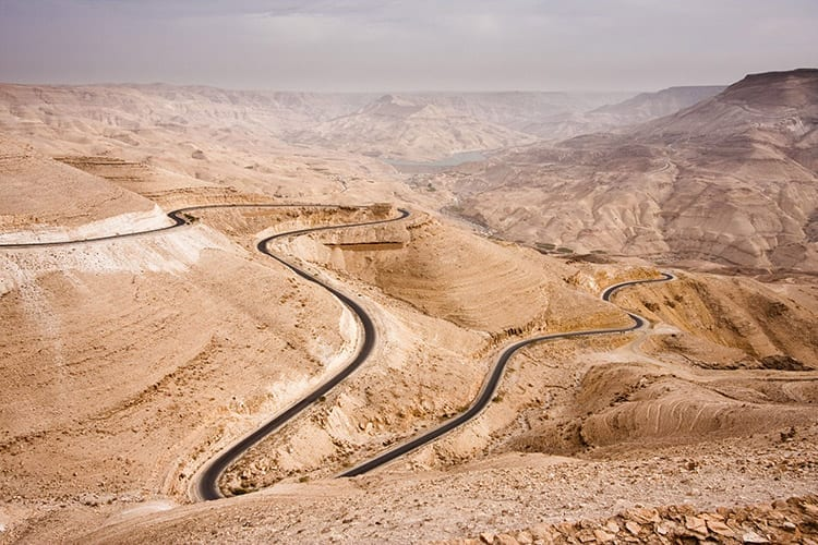 King's Highway, Jordanië