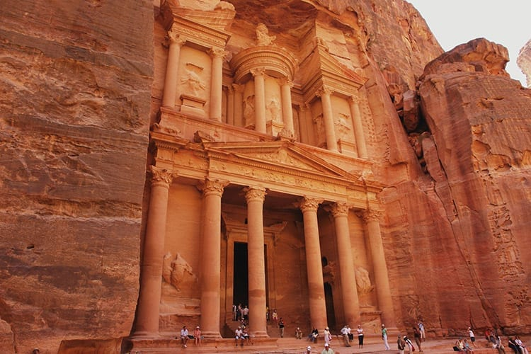 Al Khazneh, de schatkamer van de Farao