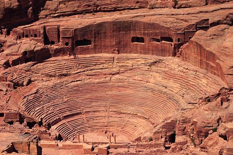 Amfitheater, Petra
