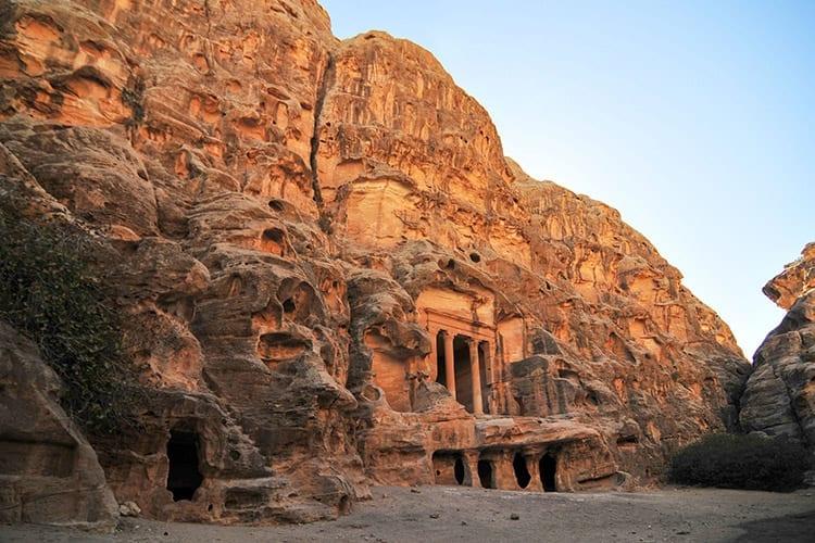 Siq al-Barid, Klein-Petra