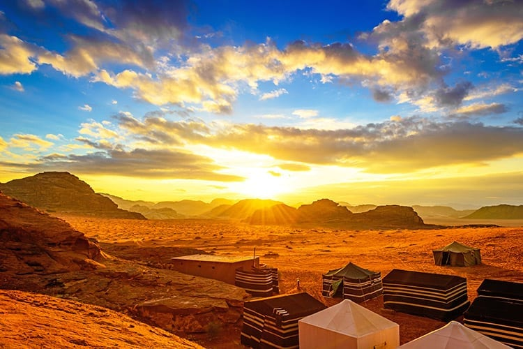 Wadi Rum overnachten