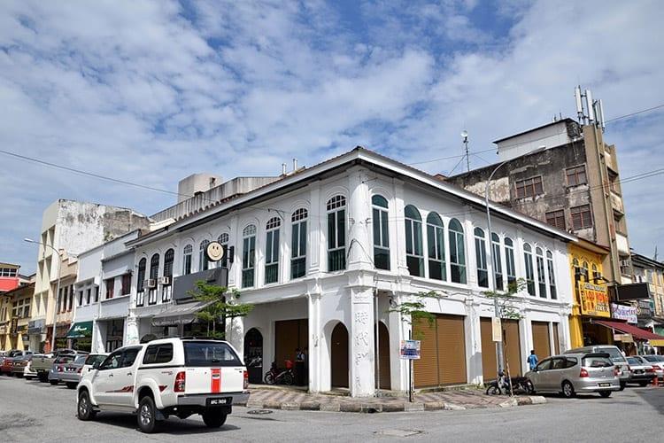 Neo-renaissance erfgoed gebouw in Ipoh