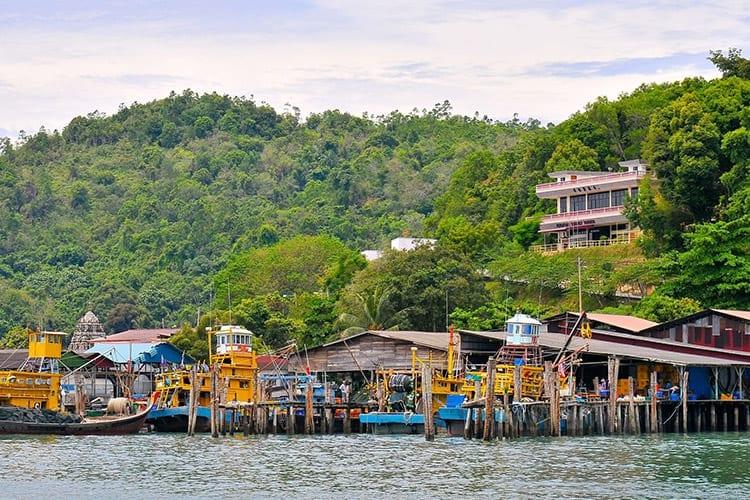 Vissersdorp, Pangkor