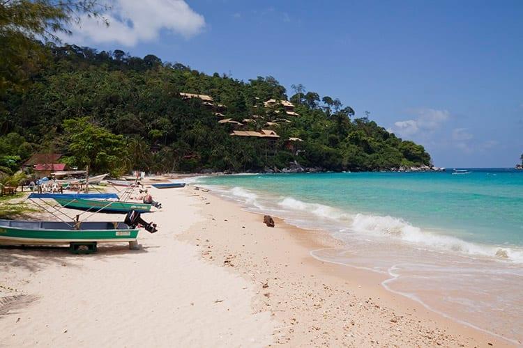Het strand van Salang