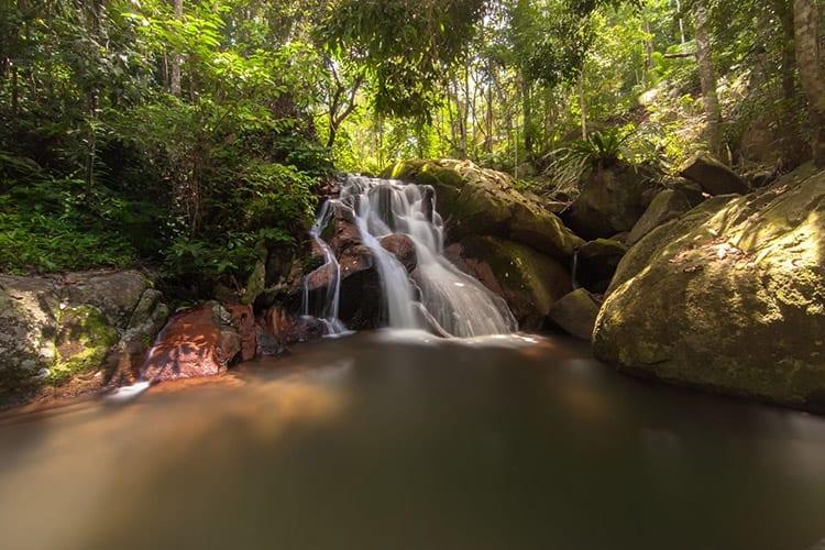 Waterval op Tioman