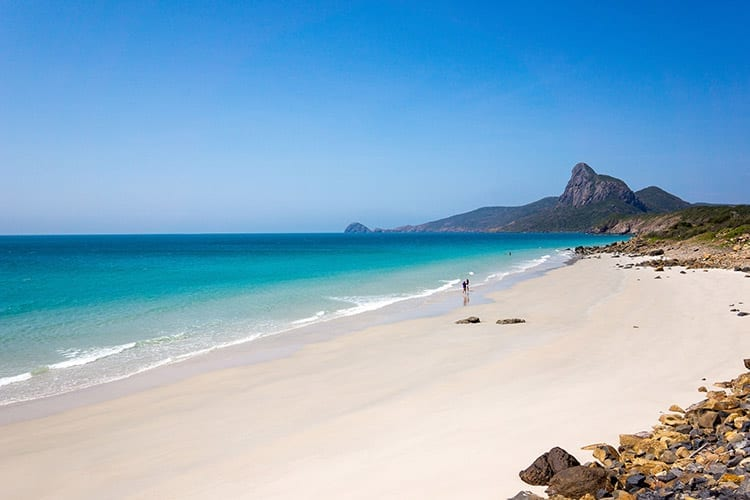 Nhat Beach, Con Dao Islands