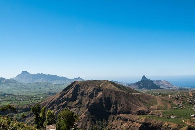 Pico da Antónia, Santiago