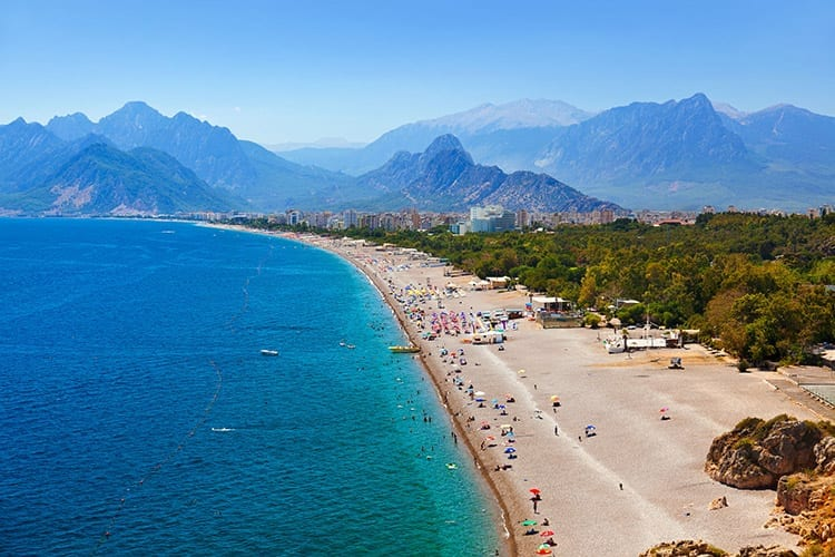 Konyaaltı Beach, Antalya