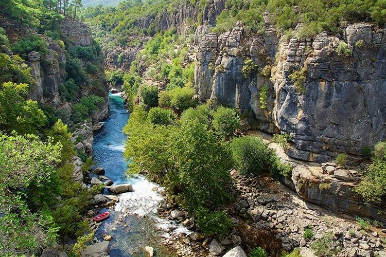 Köprülü Canyon National Park, Antalya