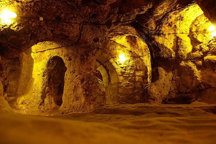 Derinkuyu, Cappadocië