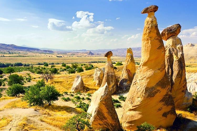 Cappadocië landschap