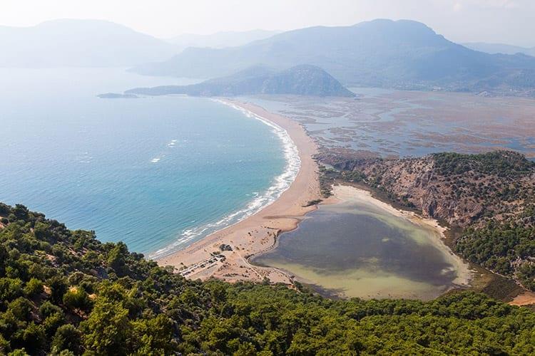 Iztuzu-strand bij Dalyan