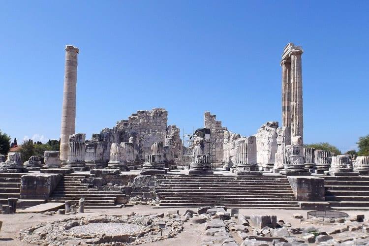 Apollo tempel bij Didim