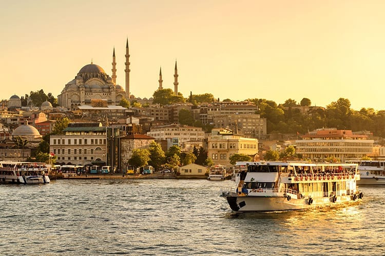Varen op de Bosporus, Istanbul