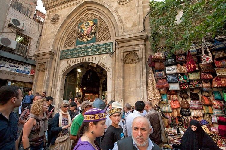 Grote Bazaar, Istanbul