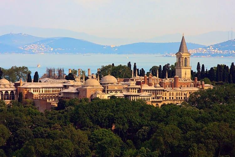 Topkapı-paleis, Istanbul