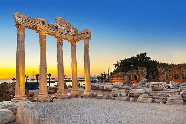 Tempel van Apollo bij Side