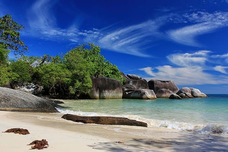 Tanjung Tinggi Beach, Belitung