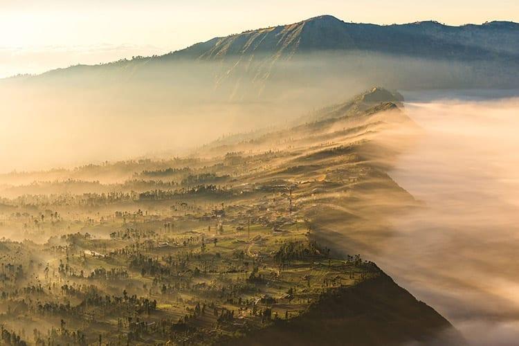 Cemoro Lawang, Bromo vulkaan